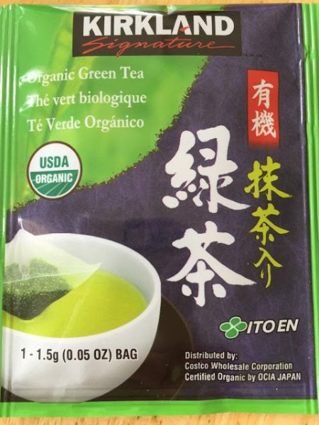 Kirkland Organic Green Tea | Kirkland Organic Green Tea