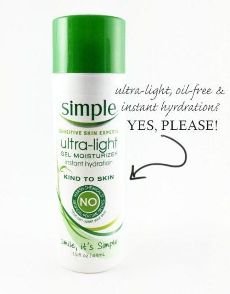 kem duong simple ultra light gel moisturizer | kem duong simple ultra light gel moisturizer