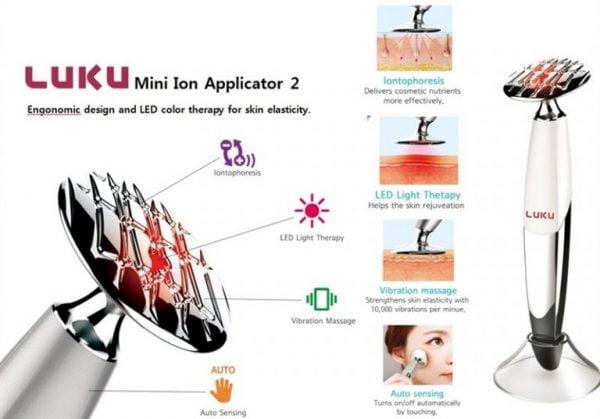 Gậy đẩy tinh chất Pobling Mini Ion Applicator 2