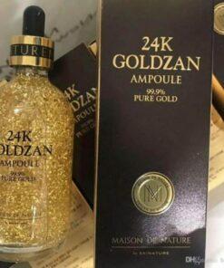 Tinh Chất 24k Goldzan Ampoule 99.9 Pure Gold 2   Tinh Chất 24k Goldzan Ampoule 99.9 Pure Gold 2