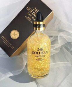 Tinh Chất 24k Goldzan Ampoule 99.9 Pure Gold   Tinh Chất 24k Goldzan Ampoule 99.9 Pure Gold