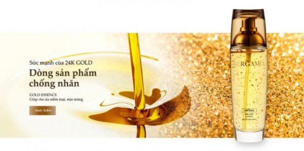 Tinh Chất Nâng Cơ Bergamo 24k Gold Brilliant Essence 5 | Tinh Chất Nâng Cơ Bergamo 24k Gold Brilliant Essence 5