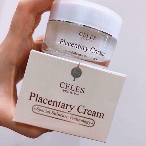 Celes Placentary Cream kem dưỡng trắng da trị nám hiệu quả 1 | Celes Placentary Cream kem dưỡng trắng da trị nám hiệu quả 1