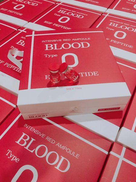 Huyết Thanh Tiểu Cầu Intensive Red Ampoule Blood Type O 4 | Huyết Thanh Tiểu Cầu Intensive Red Ampoule Blood Type O 4