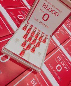 Huyết Thanh Tiểu Cầu Intensive Red Ampoule Blood Type O 5 | Huyết Thanh Tiểu Cầu Intensive Red Ampoule Blood Type O 5