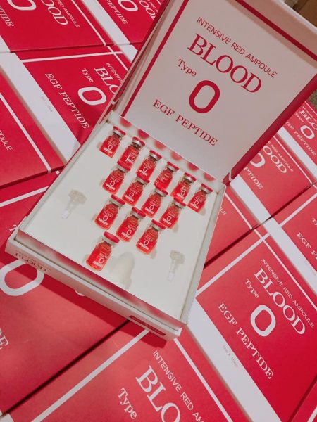 Huyết Thanh Tiểu Cầu Intensive Red Ampoule Blood Type O 5
