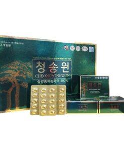 Viên Tinh Dầu Thông Đỏ Cheongsongwon 180 Viên Hộp Xanh | Viên Tinh Dầu Thông Đỏ Cheongsongwon 180 Viên Hộp Xanh