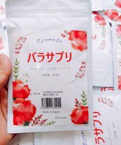 Viên Uống Hoa Hồng Thơm Cơ Thể Kyuendo Rose | Viên Uống Hoa Hồng Thơm Cơ Thể Kyuendo Rose