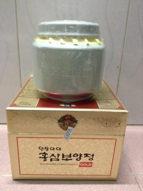 Cao hồng sâm linh chi núi Hàn Quốc Geumsan Thượng Hạng Hũ sứ 1200g 3 | Cao hồng sâm linh chi núi Hàn Quốc Geumsan Thượng Hạng Hũ sứ 1200g 3