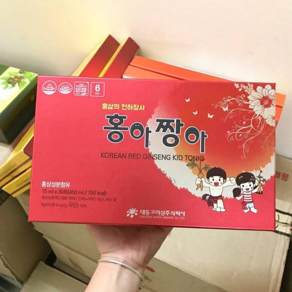 Hồng sâm baby Daedong – Korean Red Ginseng Kid Tonic 4 | Hồng sâm baby Daedong – Korean Red Ginseng Kid Tonic 4
