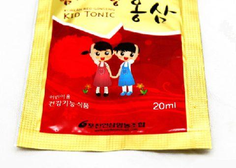 Hồng sâm baby Kid tonic 20mlx10 gói 2 | Hồng sâm baby Kid tonic 20mlx10 gói 2