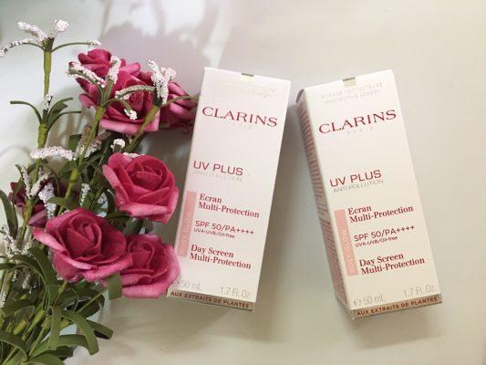 Kem Chống Nắng Clarins UV Plus Anti Pollution 3 | Kem Chống Nắng Clarins UV Plus Anti Pollution 3