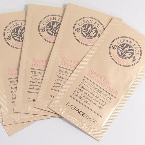 clean face spot clear intensive patch thefaceshop