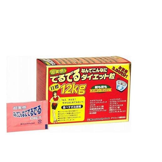 Viên Uống Giảm Cân Deru Deru Diet Nhật Bản