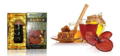 Cao linh chi mật ong Jeju Hàn Quốc 1 | Cao linh chi mật ong Jeju Hàn Quốc 1