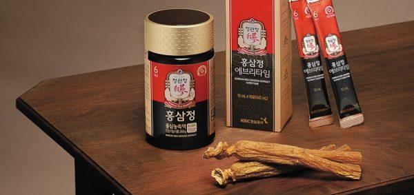 chất hồng sâm Hàn Quốc