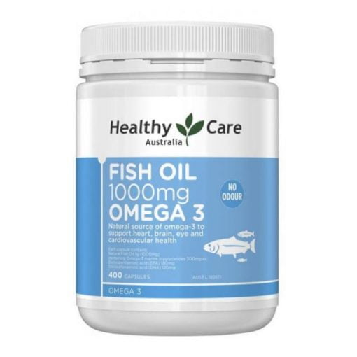 Dầu cá Healthy Care Fish Oil Omega 3 1000mg | Dầu cá Healthy Care Fish Oil Omega 3 1000mg