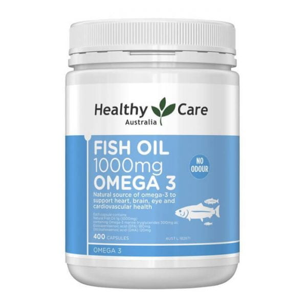 Dầu cá Healthy Care Fish Oil Omega 3 1000mg | Dầu cá Healthy Care Fish Oil Omega 3 1000mg