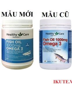 Dầu cá Healthy Care Fish Oil Omega 3 1000mg 1 | Dầu cá Healthy Care Fish Oil Omega 3 1000mg 1