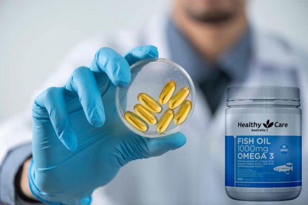 Dầu cá Healthy Care Fish Oil Omega 3 1000mg 5 | Dầu cá Healthy Care Fish Oil Omega 3 1000mg 5