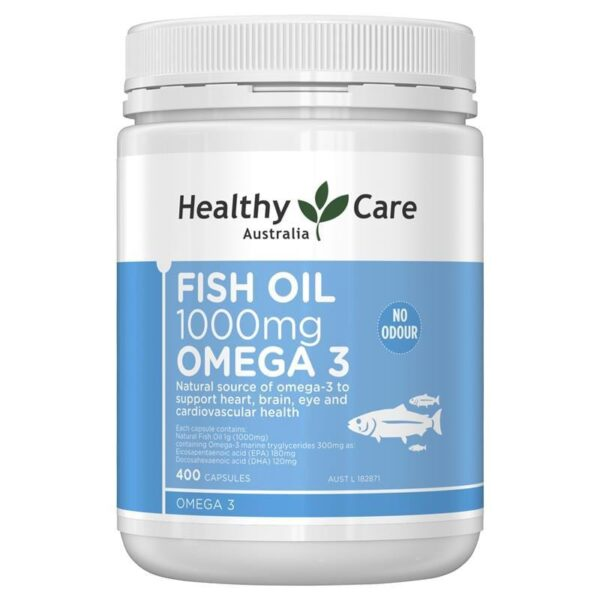 Healthy Care Fish Oil Omega 3 ikute