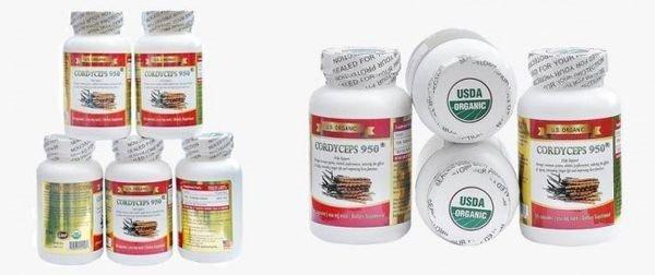 Sản phẩm Đông Trùng Hạ Thảo Cordyceps 950 mg 90 viên | Sản phẩm Đông Trùng Hạ Thảo Cordyceps 950 mg 90 viên