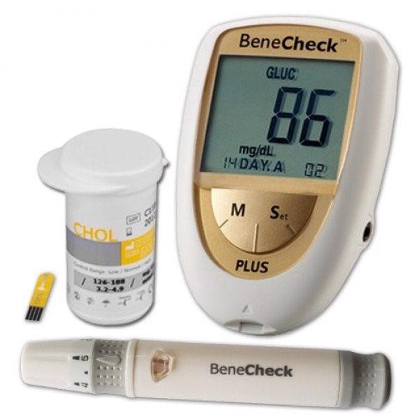 Máy đo đường huyết 3 trong 1 Benecheck Plus thông minh tiện ích | Máy đo đường huyết 3 trong 1 Benecheck Plus thông minh tiện ích
