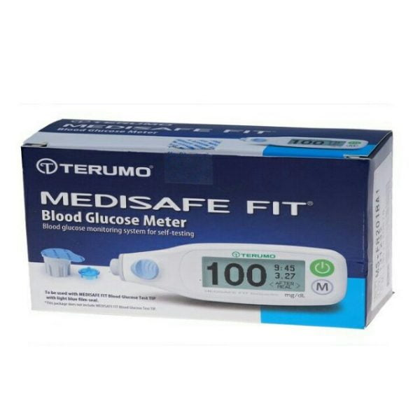 Máy đo đường huyết Terumo Medisafe Fit có xuất xứ từ Nhật Bản
