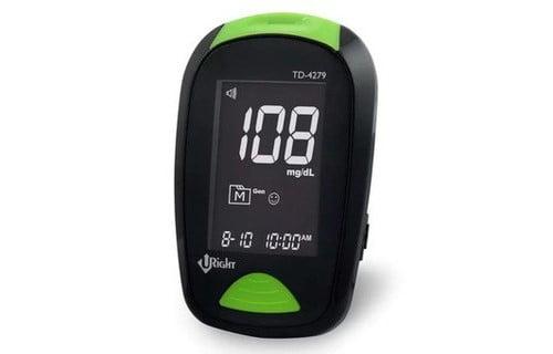 Máy đo đường huyết Uright TD 4279 cho kết quả chính | Máy đo đường huyết Uright TD 4279 cho kết quả chính