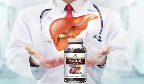 Viên uống bổ gan Liver Hydrolysate xuất xứ từ Nhật Bản