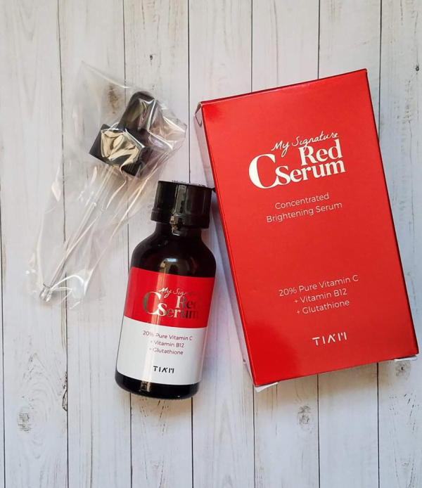 Serum My Signature red C serum của Tiam