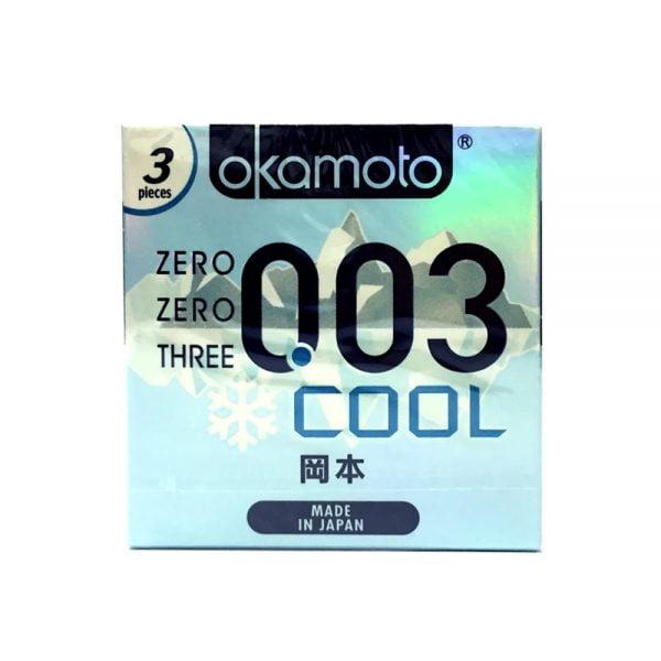 Bao cao su Okamoto 0.03 Cool mang lại sự mát lạnh cho cuộc yêu thêm màu sắc | Bao cao su Okamoto 0.03 Cool mang lại sự mát lạnh cho cuộc yêu thêm màu sắc