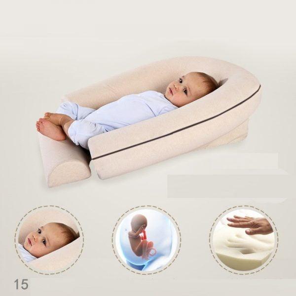 Dilemon có kiểu thiết kế ôm trọn trẻ nhỏ giúp trẻ có giấc ngủ sâu