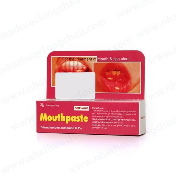 Mouthpaste được khuyến cáo không dành cho những người mắc bệnh loét dạ dày | Mouthpaste được khuyến cáo không dành cho những người mắc bệnh loét dạ dày