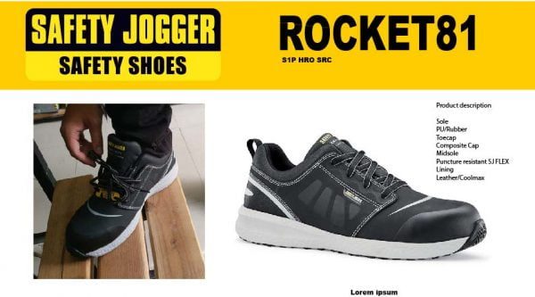 Safety Jogger Rocket 81 | Safety Jogger Rocket 81