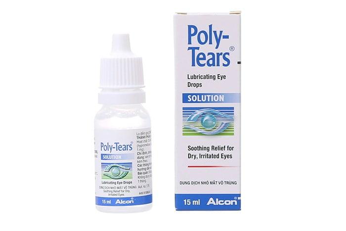 Nước mắt nhân tạo alcon Poly Tears Drop 1 | Nước mắt nhân tạo alcon Poly Tears Drop 1