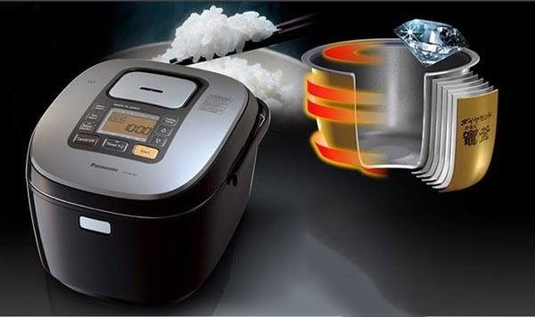 Nồi cơm điện cao tần sử dụng công nghệ nấu cơm hiện đại bậc nhất