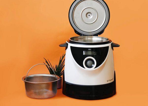 Nồi cơm tách đường Grayns có thể ghi nhớ quy trình nấu yêu thích của người dùng | Nồi cơm tách đường Grayns có thể ghi nhớ quy trình nấu yêu thích của người dùng