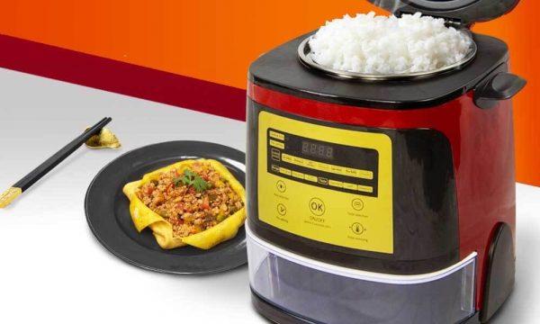 Nồi cơm tách đường Magic Korea có thiết kế khá sang trọng | Nồi cơm tách đường Magic Korea có thiết kế khá sang trọng