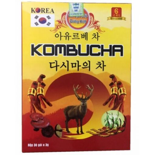 Trà dưỡng sinh Kombucha
