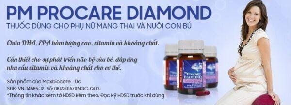 Anh 1. Procare Diamond la san pham co nguon goc tu Uc