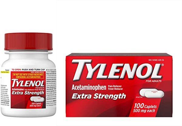 Tylenol Extra Strength 500mg | Tylenol Extra Strength 500mg