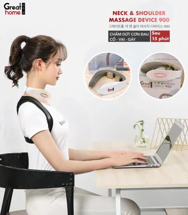 Great Home Neck Shoulder Massage Device 1