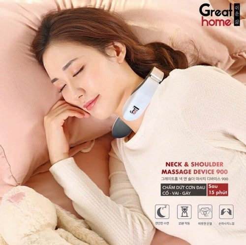 Great Home Neck Shoulder Massage Device